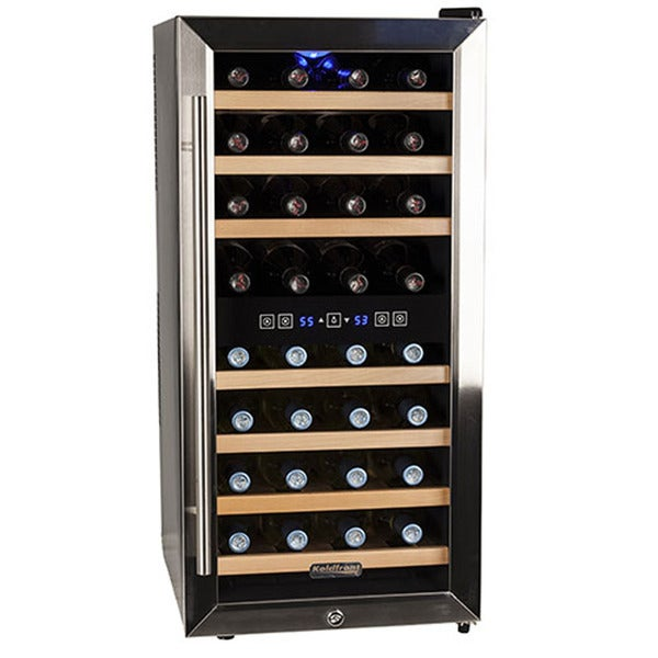 Koldfront 32-bottle Dual Zone Wine Cooler