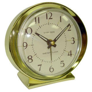 Baby Ben Goldtone Keywind Alarm Clock