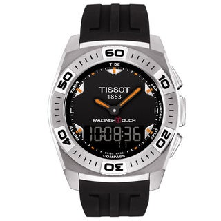 Tissot Men's Black Dial Racing 'Touch' Watch