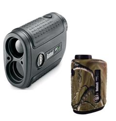 Bushnell Scout 1000 ARC Laser Rangefinder with Skinz Silicone Cover