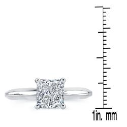 14k Gold 1/2 to 1 1/2ct TDW Clarity-enhanced Certified Diamond Ring (G-H, SI2-SI3)