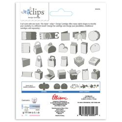 Sizzix Eclips 'Albums, Bags & Boxes' Cartridge with Storage Case