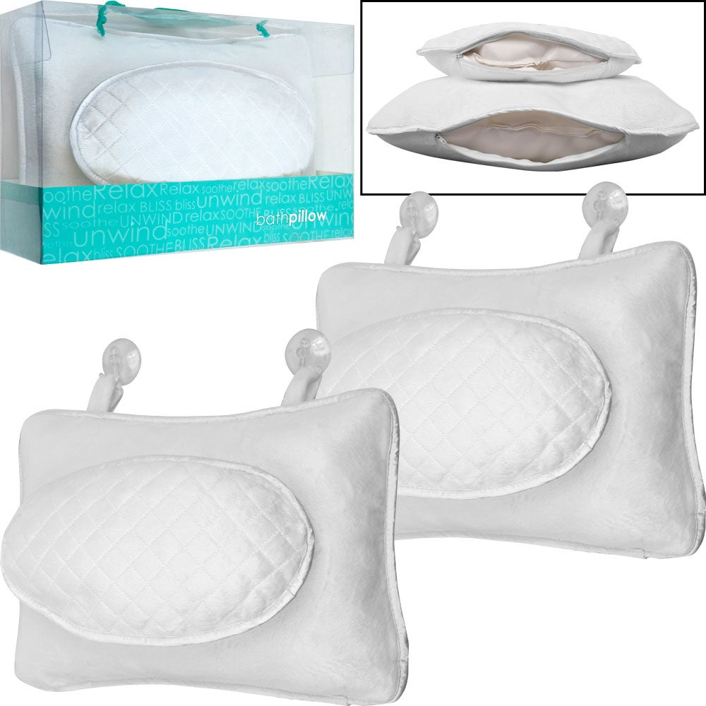 Remedy Microterry Bath Pillows (Set of 2)