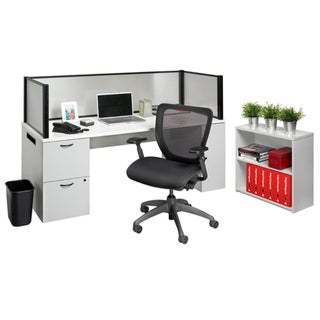 Nightingale Office in a Box Furniture Set and Privacy Screen