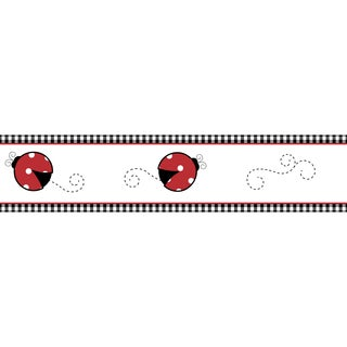 Sweet JoJo Designs Little Ladybug Wall Border