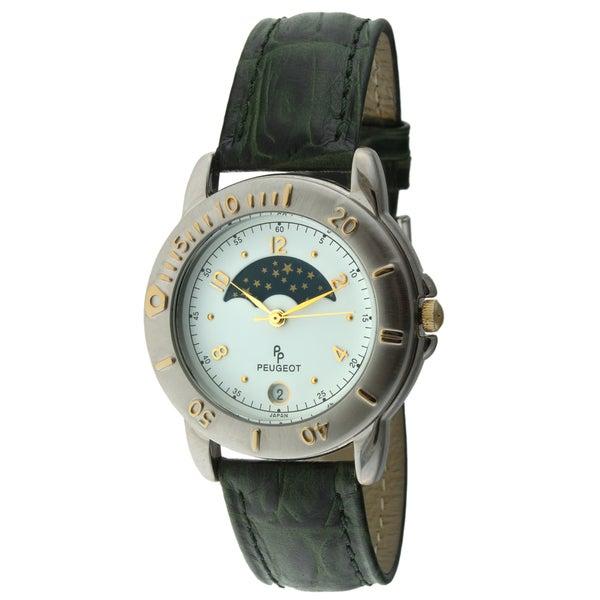 Peugeot Men's Vintage Decorative Moon Watch