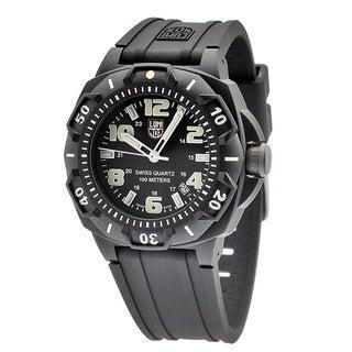 Luminox Men's Sentry Black Stainless Steel Watch