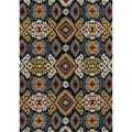 Hand-tufted Arianna Midnight Wool Rug (7'10 x 11'0)