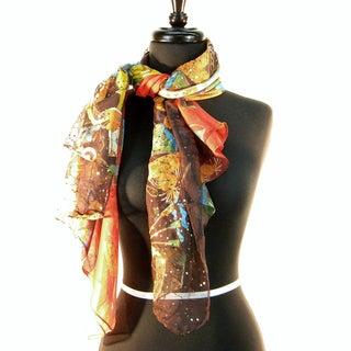 Silk 'Handbags with Sequins' Fashionista Sarf