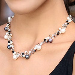Pearl and Agate 'A Spark of Romance' Choker (4-8.5 mm) (Thailand)