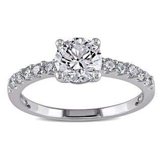 Miadora 14k White Gold 1 1/6ct TDW Diamond Ring (H-I, SI2)