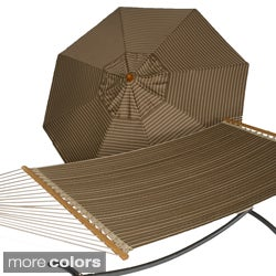 Phat Tommy Umbrella and Quilted Hammock Set