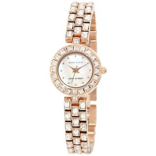 Anne Klein Women's Gold Stainless-Steel Quartz Watch
