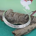 Handcrafted Silver-plated Floral Everyday Choker Necklace (India)