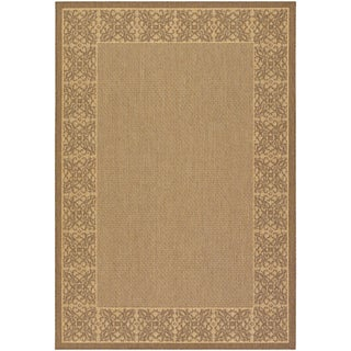 Recife Summer Chimes Natural/ Cocoa Runner Rug (2'3 x 11'9)