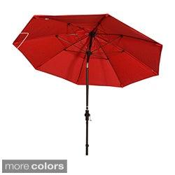 Phat Tommy 9-Foot Aluminum Market Sunbrella Umbrella