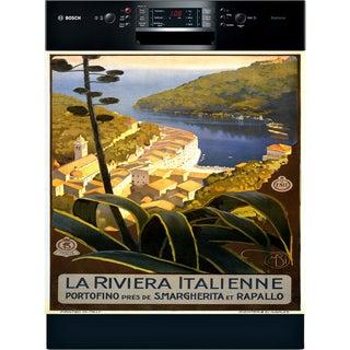 Appliance Art Portofino Vintage Dishwasher Cover