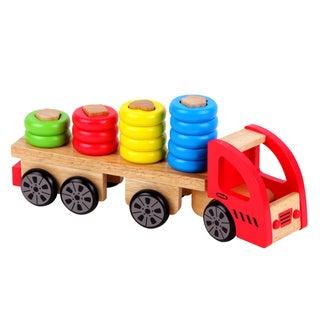 Discoveroo Wooden Sort 'n Stack Truck