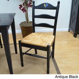 'Ella' Rooster Design Ladder Back Chair