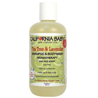 California Baby Tea Tree & Lavender 8.5-ounce Shampoo & Body Wash