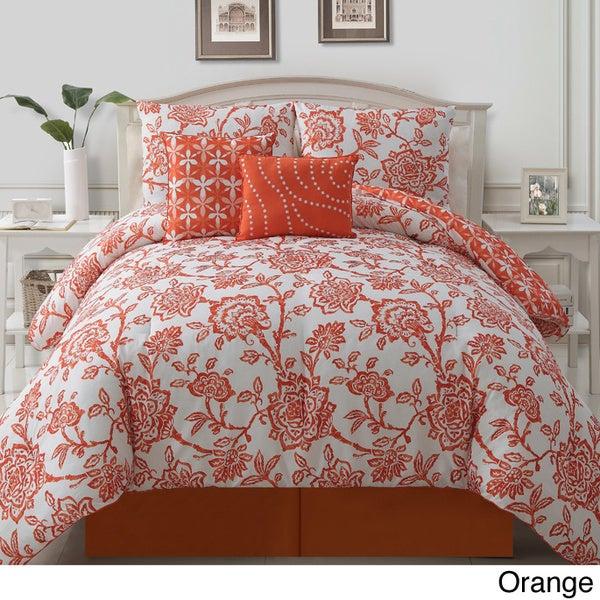 Jordin 5-piece Reversible Comforter Set
