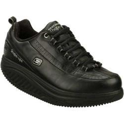 Women's Skechers Shape Ups SR Black Athletic Shoes