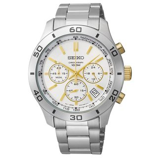 Seiko Women's Stainless Steel 3-hand Chronograph Watch