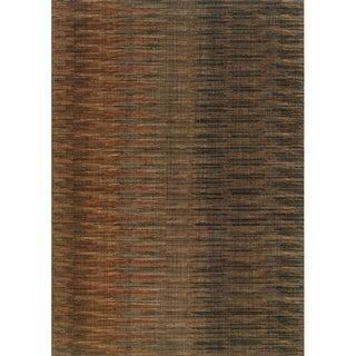 Indoor Brown/ Rust Area Rug (5'3 x 7'6)