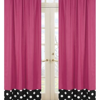 Hot Dot Modern 84-inch Curtain Panel Pair