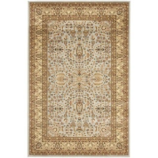 Safavieh Lyndhurst Persian Treasure Grey/ Beige Rug (6' x 9')
