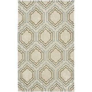Safavieh Handmade Avant-garde Morocco Beige Rug (9' x 12')