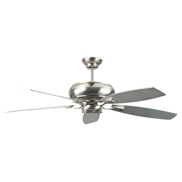 52-Inch Stainless Steel Five Blade Ceiling Fan
