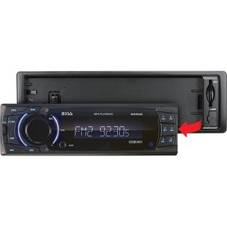 Boss 622UA Car Flash Audio Player - 200 W RMS - Single DIN