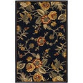 Botanique Bailey/ Black Area Rug (9' x 12')