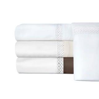 Grand Luxe Egyptian Cotton Duetta 800 TC Deep Pocket Sheet or Pillowcase Separates