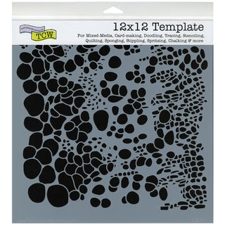 """Crafter's Workshop Templates 12""""X12""""-Cell Theory"""