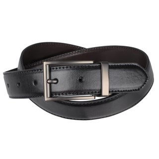 Joseph Abboud Men's Smooth Reversible Leather Belt