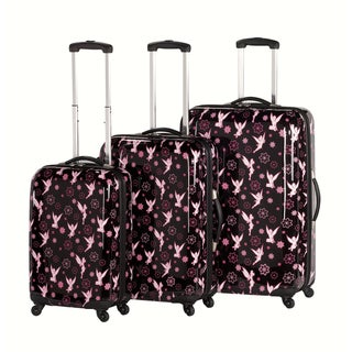 Heys USA Disney Tinker Bell 3-piece Hardside Spinner Luggage Set
