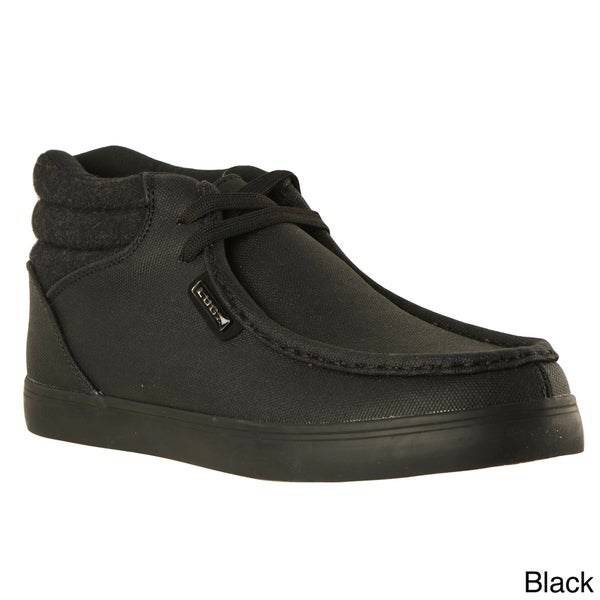 Lugz Men's 'Ease Military' Canvas Moc-toe Sneakers