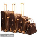 Pierre Cardin Revolution 4-piece Spinner Luggage Set