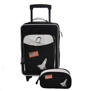 Obersee Kids Space 2-piece Carry On Upright and Toiletry Bag Set