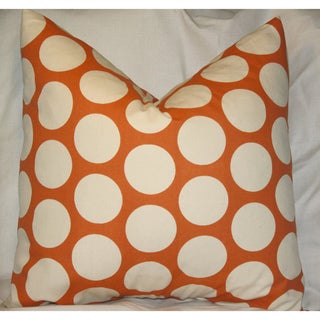 Taylor Marie Sweet Potato 18x18-inch Throw Pillow Cover