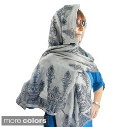 East Indian Rangoli Fashion Scarf/Beach Wrap