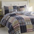 Nautica Chatham Cotton Reversible Quilt and Sham Separates