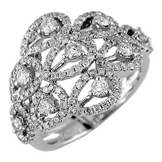 14k White Gold 1 1/4ct TDW Diamond Ring (G-H, I1-I2)