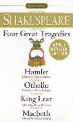 Four Great Tragedies: Hamlet, Othello, King Lear, Macbeth (Paperback)