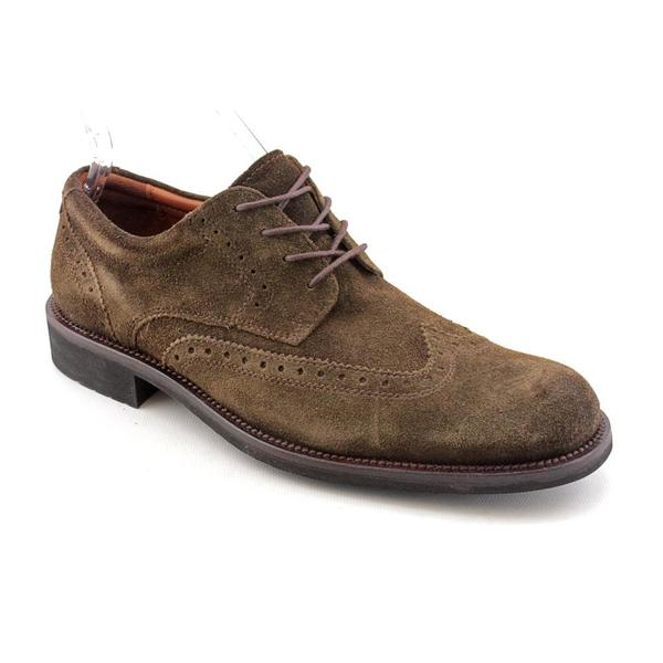 Johnston & Murphy Men's 'Vester Wing' Regular Suede Dress Shoes (Size 8)