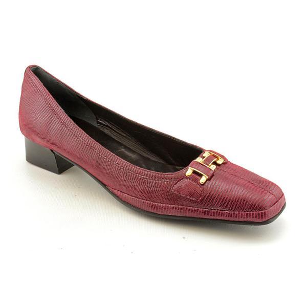 Amalfi By Rangoni Women's 'Mosa' Leather Dress Shoes - Narrow (Size 11.5)