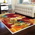 Skye Monet Flame Rug (7'7 x 10'5)