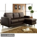 Jenick Contemporary Sectional with Ottoman Conversion